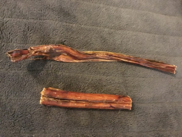 Beef Pizzle (long and thin) approx 30cm